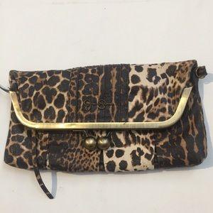 Jessica Simpson Animal Print Bag Purse clutch